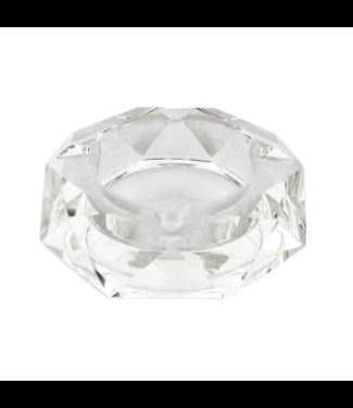 Glass Crystal Ashtray - Star Anise