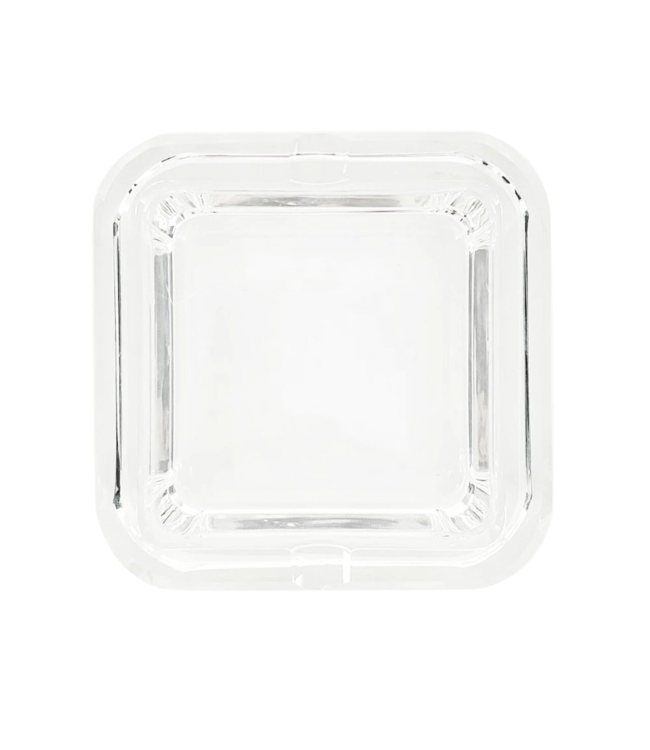 Glass Crystal Ashtray - Deep Cube