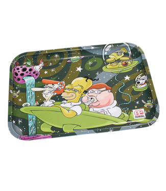"""Dunkees Dunkees Rolling Tray 10.5"""" x 6.5"""" Dads Night Out"""