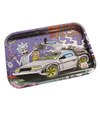 """Dunkees Dunkees Rolling Tray 10.5"""" x 6.5"""" Back to the Flower"""