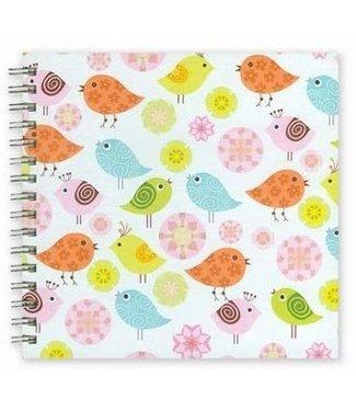 Hemp Heritage Eco-Chic Journal Book, Birdy Birdy