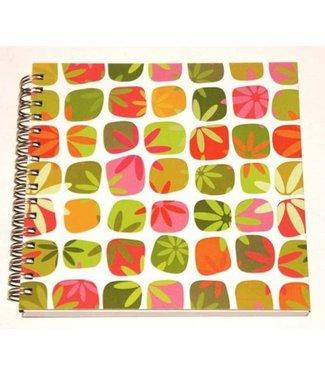 Hemp Heritage Eco-Chic Journal Book, Flower Power