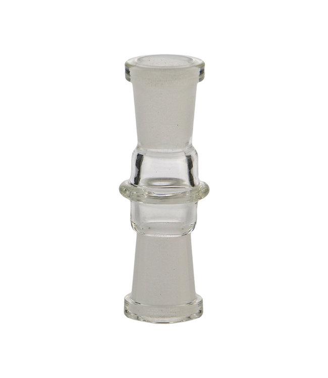Hydros Hydros Glass Adapter 10mm Female to 10mm Female
