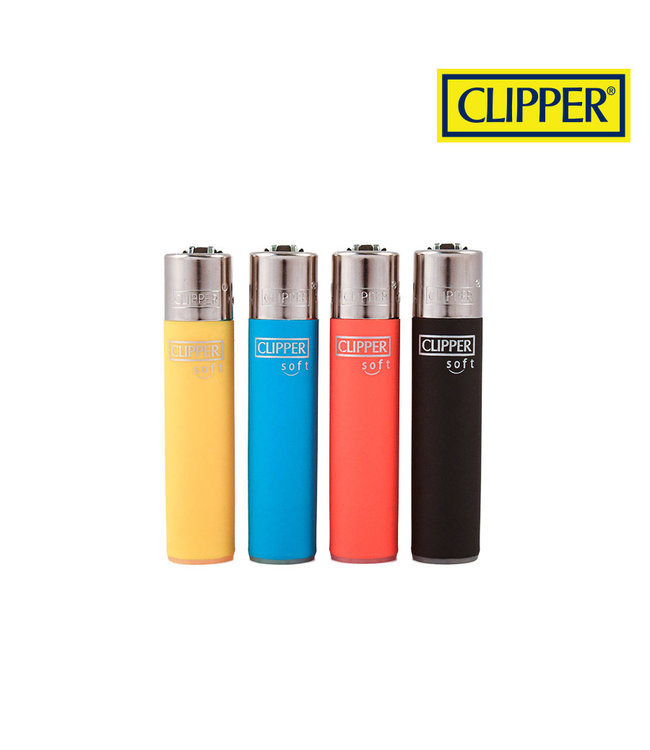 Clipper Clipper Refillable Lighter Soft Series Assorted Colours