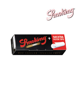 Smoking Smoking Deluxe 1 1/4 Papers w/ Tips