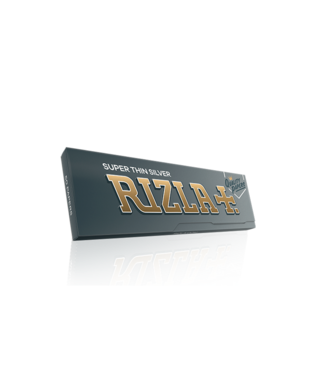 Rizla Rizla Super Thin Silver Papers Single Wide 50-Pack