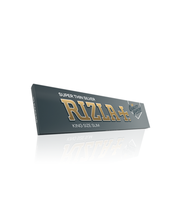 Rizla Rizla Super Thin Silver Papers King Size Slim 32-Pack