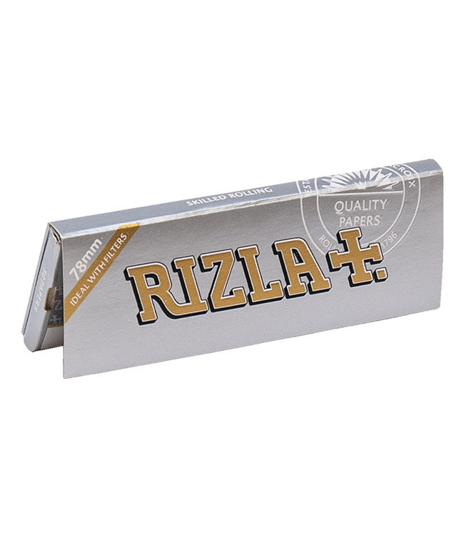 Rizla Rizla Super Thin Silver Papers 1 1/4 Size 50-Pack
