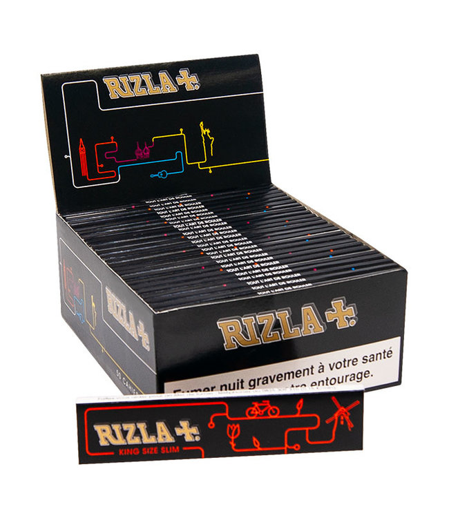 Rizla Rizla Ultra Thin Ltd Edition Black Papers King Size Slim 32-Pack
