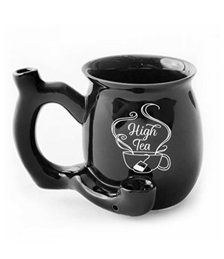 High Tea Mug Pipe Black