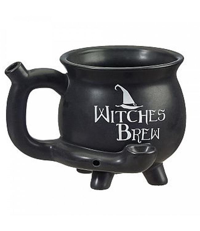 Witches Brew Cauldron Mug Pipe