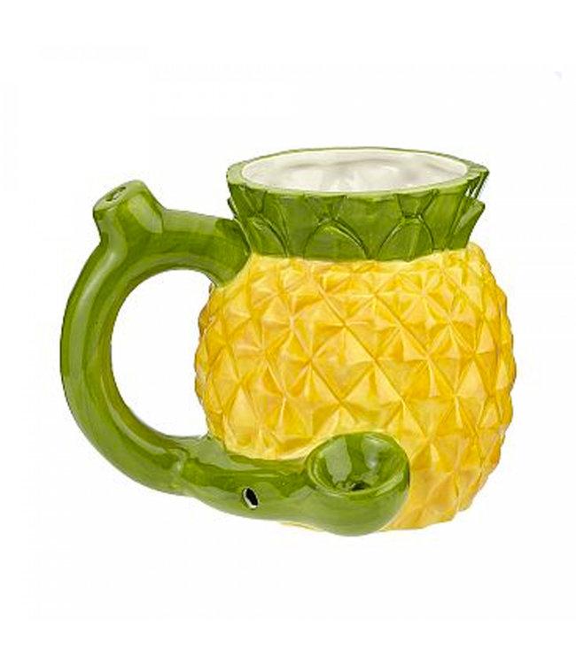 Ceramic Pineapple Mug Pipe