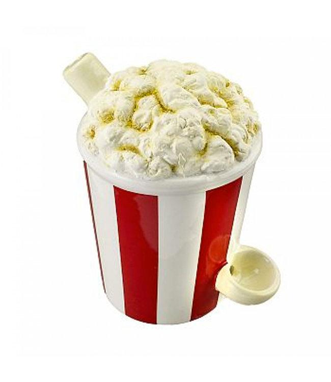 Ceramic Popcorn Mug Pipe