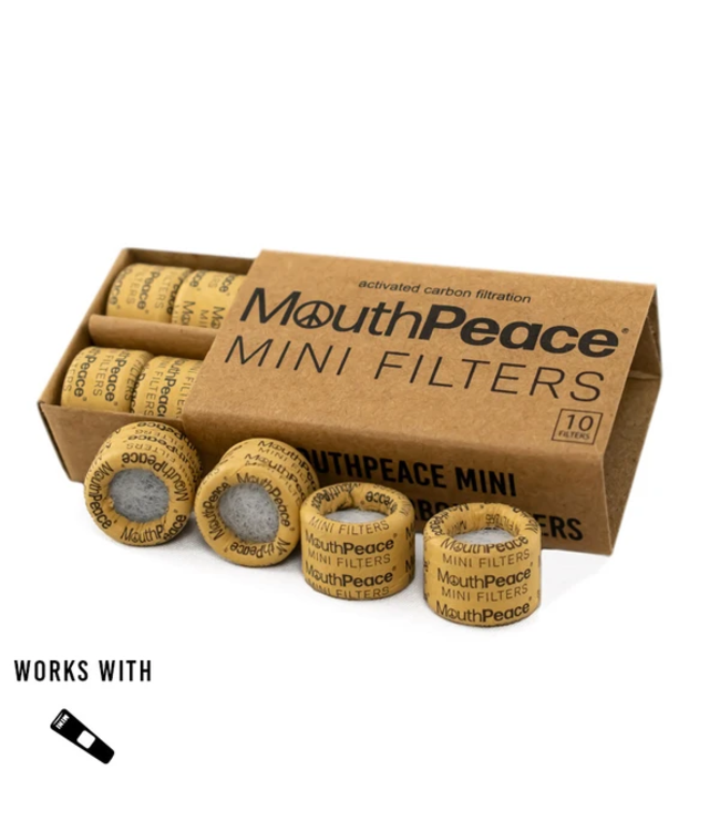 Moose Labs Moose Labs Mini MouthPeace Filter Roll 10-Pack