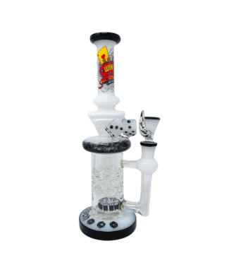 "Cheech Glass Cheech Glass 11"" Casino Dice Rig w/ Perc"