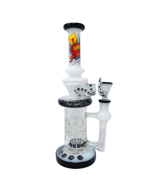 "Cheech Glass Cheech Glass 11"" Casino Dice Rig w/ Perc"