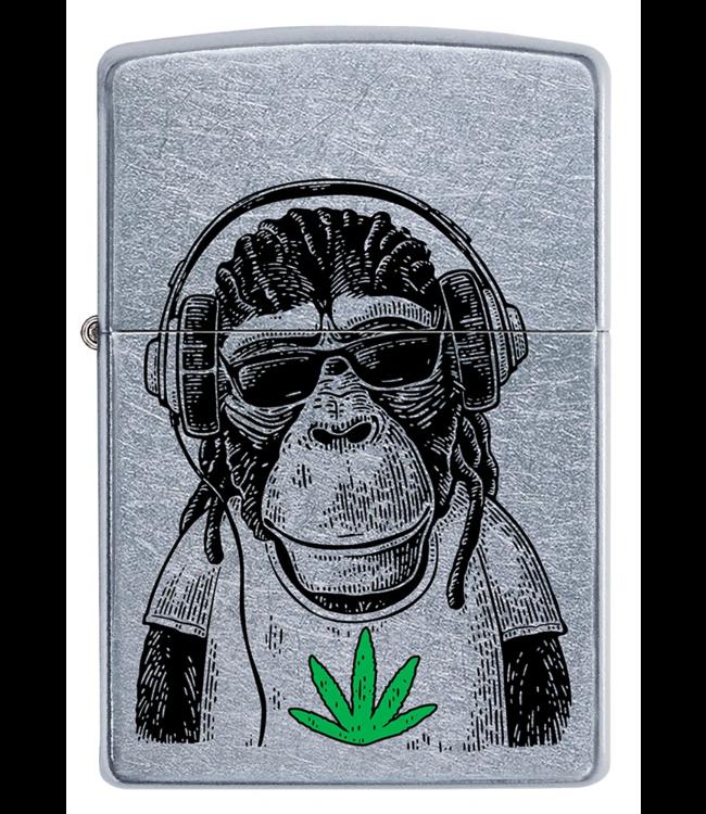 Zippo Lighter Monkey's Weed Tee