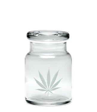 420 Science 420 Science UV Pop Top Jar Silver Leaf Small