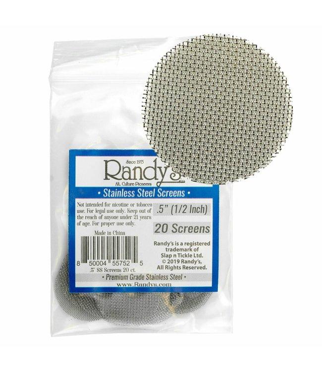 Randy's Randy's Screens Stainless Steel 20-Pack