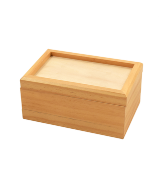 """Wood 3-Piece 3.5""""x5.5"""" Magnetic Sifter Box"""