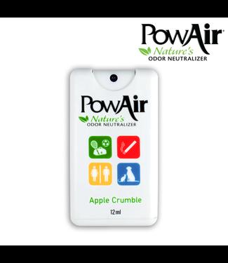 PowAir Apple Crumble Spray Card Odour Neutralizer 12ml