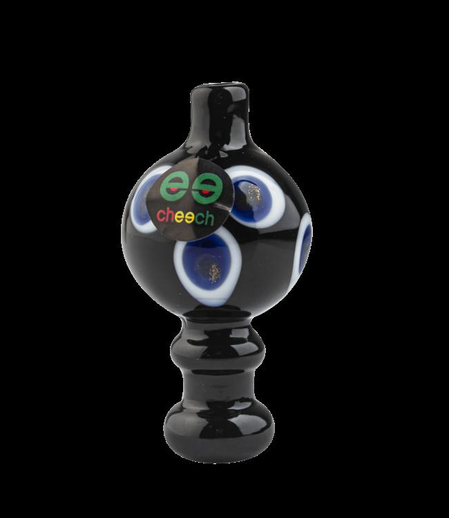 Cheech Glass Cheech Glass Bubble Carb Cap Circle Pattern
