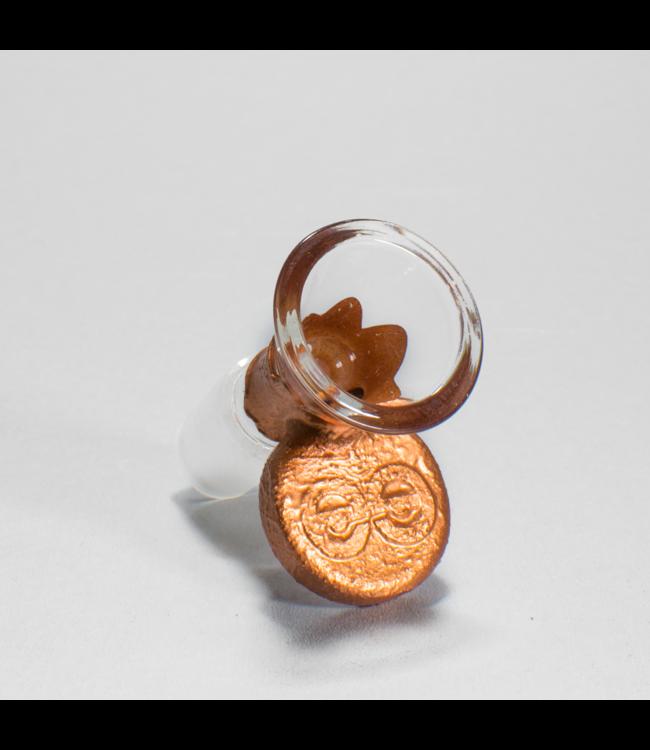 Cheech Glass Cheech Glass 14mm Copper Electroplated Bowl