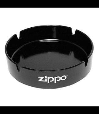 "Zippo Zippo 5.25"" Ashtray Black w/ Logo"