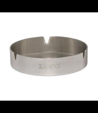 "Zippo Zippo 4"" Ashtray Stainless Steel"