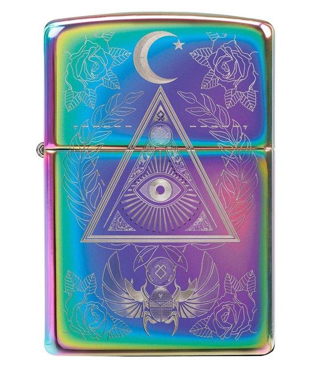Zippo Zippo Lighter Eye of Providence Multicolour