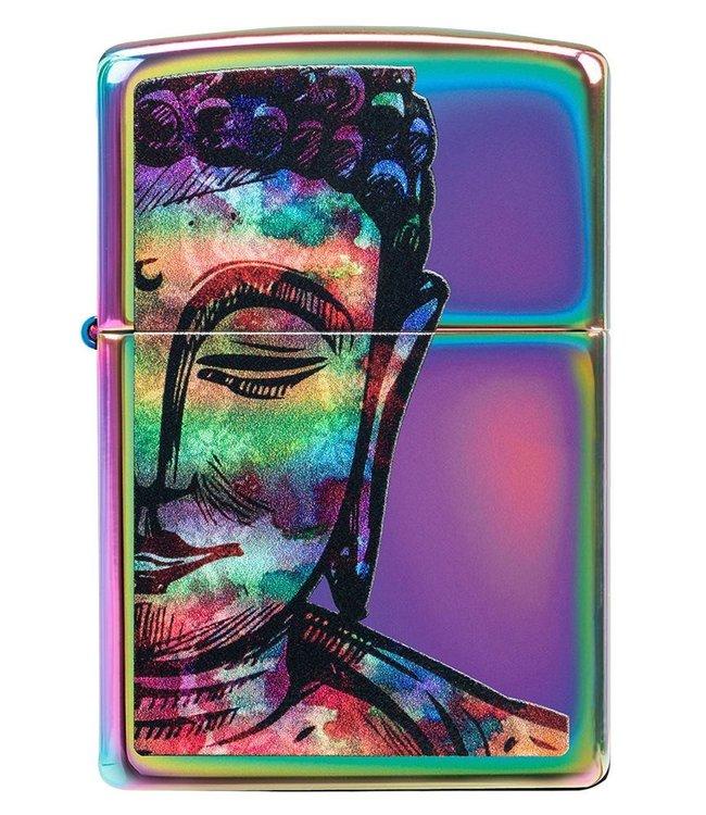 Zippo Zippo Lighter Bright Buddha Multicolour