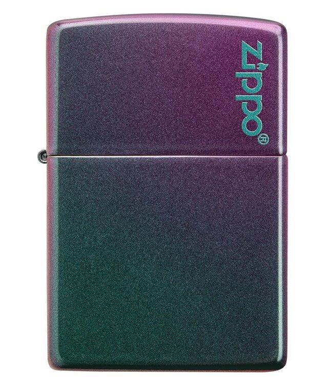 Zippo Zippo Lighter Iridescent w/ Logo