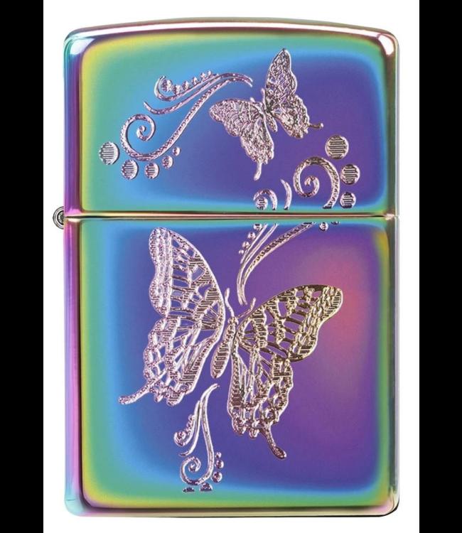 Zippo Zippo Lighter Butterfly Multicolour