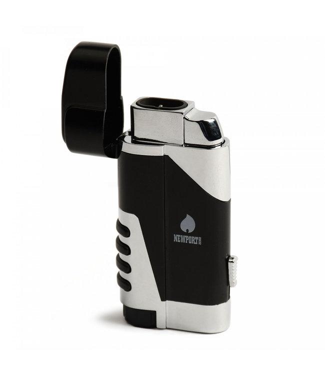 Newport Newport Dual Flame Pocket Torch Lighter