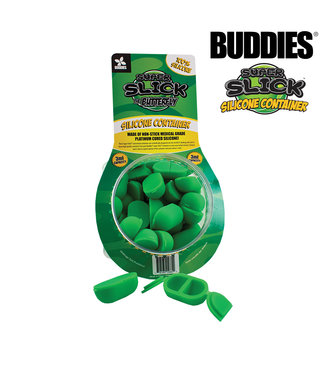 """Buddies Buddies Super Slick """"The Butterfly"""" Silicone Containers 6ml 2-Pack"""
