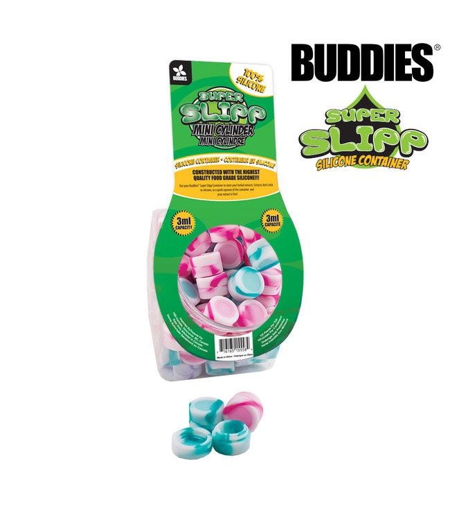 Buddies Buddies Super Slipp Mini Cylinder Silicone Container 3ml