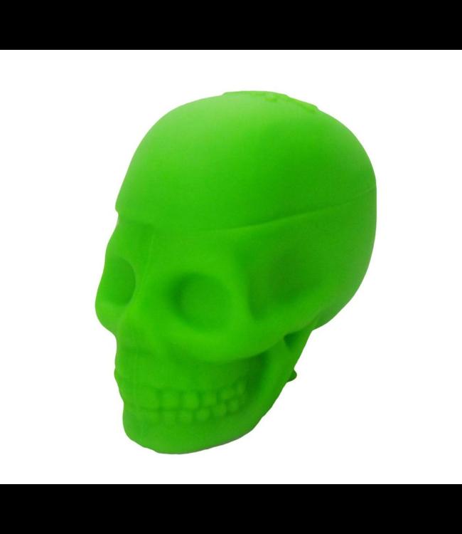 NoGoo NoGoo Platinum Cured Silicone Jar Skull