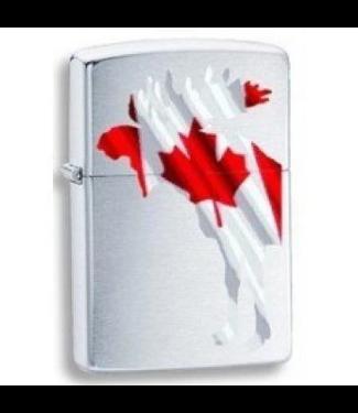 Zippo Zippo Lighter Moose with Canada Flag
