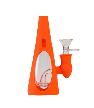 "FLX 6"" Silicone Inverter Bong Orange"