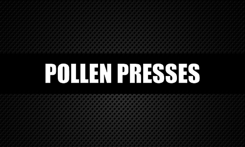Pollen Presses