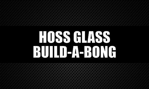 Hoss Glass Build-a-Bong