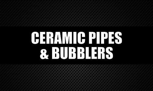 Ceramic Pipes & Bubblers
