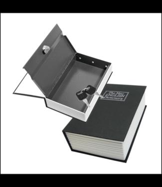 Book Safe w/ Lock & Key