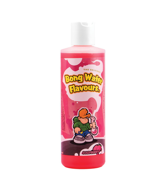 Bong Water Flavours Raspberry
