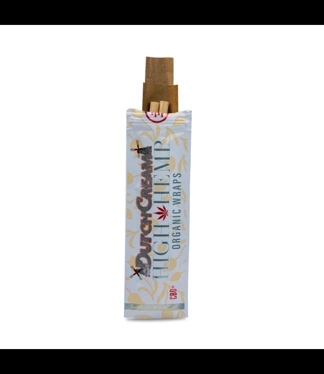 High Hemp High Hemp Organic Wraps Dutch Cream