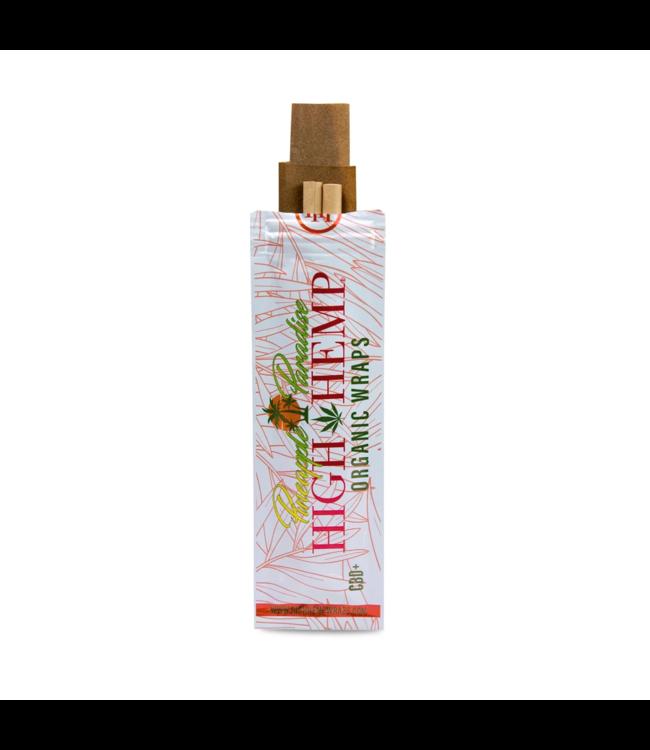 High Hemp High Hemp Organic Wraps Pineapple Paradise