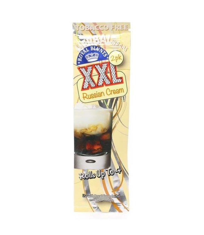 Royal Blunts Royal Blunts XXL Hemp Wraps Russian Cream 2-Pack