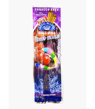 Royal Blunts Royal Blunts XXL Hemp Wraps Purple Haze 2-Pack