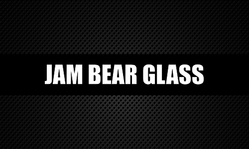 Jam Bear Glass