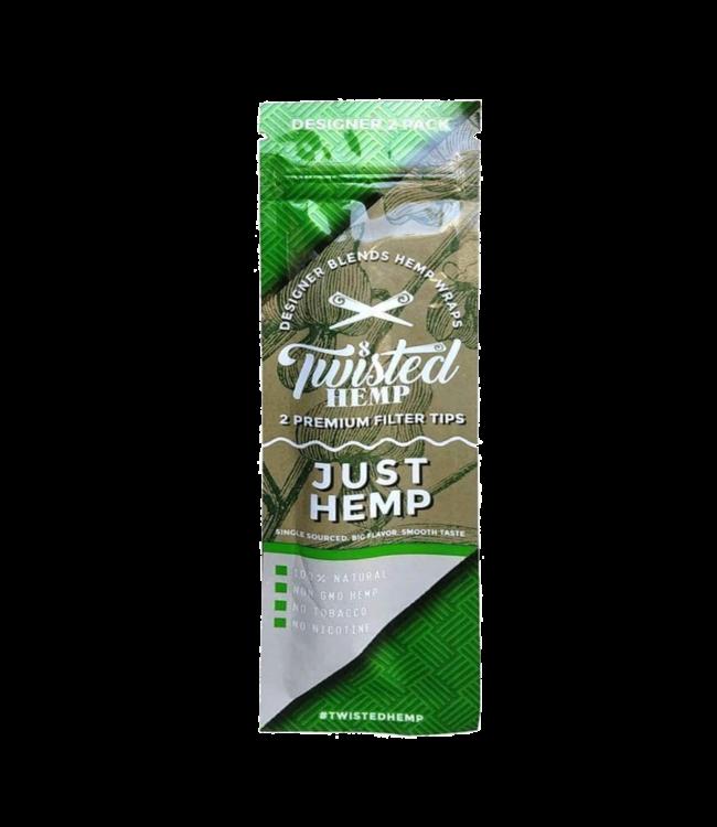 Twisted Hemp Twisted Hemp Wraps 2-Pack Just Hemp